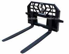NEW HD 5000# PALLET FORKS & FRAME ATTACHMENT Skid-Steer Track Loader Holland Cat