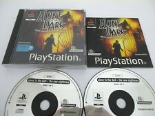 ALONE IN THE DARK The New Nightmare - SONY PLAYSTATION - Jeu PS1 Complet PAL Fr