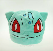 Cosplay New Costume Pokemon Adult Soft Plush Hat Cap Beanie Bulbasaur Doll Toy
