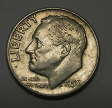 Average Grade of Coin You Will Receive is Photographed 1950-d Roosevelt  Dime