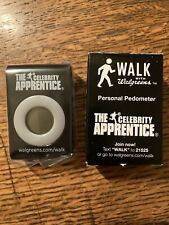 Trump Celebrity Apprentice Pedometer Walking Personal Exercise Counter - NEW