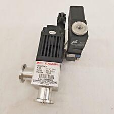 Edwards | PV16PKA B | C41211000 | High Vacuum Valve Switch | 24V 0.25A | 7 Bar