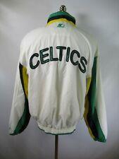 E9115 VTG 90s STARTER Boston Celtics NBA Basketball Windbreaker Jacket Size L