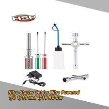 HSP 80141 Nitro Starter Kit for HSP RedCat Nitro Powered 1/8 RC Car Latest G7J6