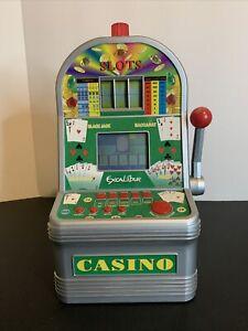 Vintage Excalibur 7 In 1 Ultimate Casino Talking Gambling Slot Machine