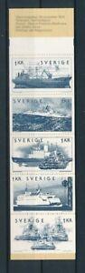 D200198 Sweden Booklet MNH Boats 1974