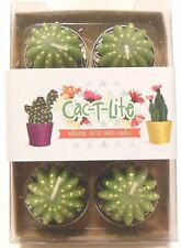 Cactus Tealight Candles, 6 Pack, Fun Gift Idea, Table Decoration, Party Favours