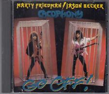 Marty Friedman & jason Becker : Cacophony : Go Off CD FASTPOST