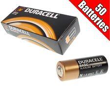 50pk Duracell 1.5V Alkaline Battery Size N LR1 MN9100 E90 bulk
