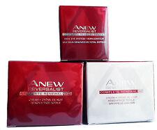 Avon= Anew- Reversalist- Regime Set Day, Night & Eye Cream Full Size