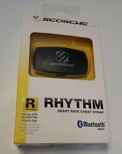 Scosche RHYTHM Heart Rate Monitor BLECS Work Out Tracker Black gps New