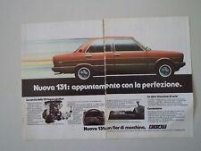 advertising Pubblicità 1981 FIAT 131 SUPERMIRAFIORI