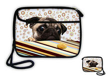 Pug Wallet Purse Cell Phone Bag Compact Camera Case Pouch For iPhone 6S/ 7