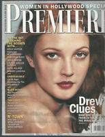 DREW BARRYMORE interview HOLLY HUNTER  M Night Shyamalan 2000 Premiere magazine