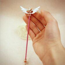 Anime Card Captor Sakura Kinomoto Wings Magic Wand Mini Cosplay Prop New