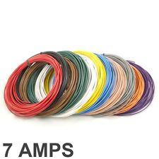 7 AMP Bewertete 0.35 mm 2 Dünnwandig Einadrig Kabel / Kabel - 11 Farbauswahl