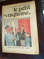 Tintin - SUPERBE Petit Vingtième- n°35 du 29/08/1935 (Couv. Lotus) - PROCHE NEUF