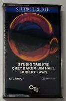 Studio Trieste Chet Baker Jim Hall Hubert Laws Cassette Tape 1982 CTI