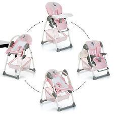 NEW Hauck Sit'n relax 2in1 zoomy baby highchair+bungee in birdie pink