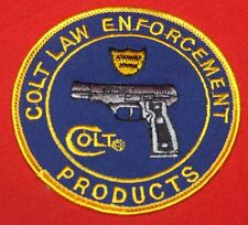 COLT FIREARMS FACTORY Law Enforcement Patch 1995