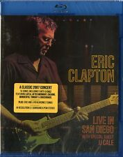 CLAPTON ERIC (WITH SPECIAL GUEST JJ CALE) LIVE IN SAN DIEGO BLU-RAY NUOVO