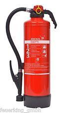 Jockel 6 Liter frostsicher Auflade Wasser Feuerlöscher W6JXF21 (ArtNr. 6521000)