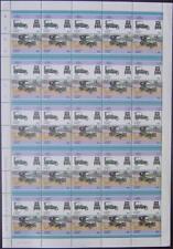 1913 PEUGEOT BEBE Baby (Type 69 / BP1) Car 50-Stamp Sheet (1986 Nanumea TUVALU)