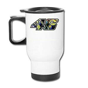 Valentino Rossi 46 Logo Motogp Cup Funny 14 oz Travel Mug