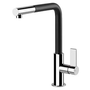 Gessi Emporio BLACK SPOUT 17053B Pull Out Kitchen Mixer Italian Manufactured