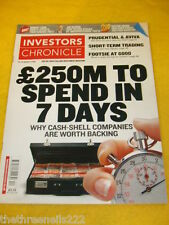 INVESTORS CHRONICLE -  £250M TO SPEND IN 7 DAYS - MARCH 24 2006