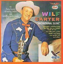Montana Slim by Wilf Carter (CD, Jan-2008, Gusto Records)