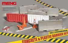 Meng Model SPS-012 1/35 Concrete & Plastic Barrier Set