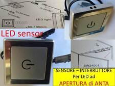 Interruttore LED Apertura ANTA 12-24V striscie G4 sensore MR16 faretti lampada A