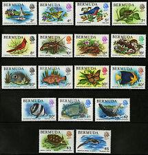 Bermuda  1978-79   Scott #363-379  Mint Never Hinged Set