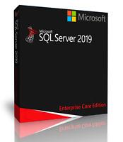 Microsoft SQL Server 2019 Enterprise with 4 Core License, unlimited User CALs
