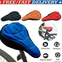 Comfy Cushion Saddle Seat Cover Bicycle Cycle Bike Extra Soft Gel Pad Seat UK
