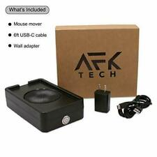 AFK TECH Automated Mouse Mover/Jiggler v1.2, Quiet Operation, Random Realistic