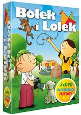 Bolek i Lolek (DVD 3 disc box) bajki POLSKI POLISH