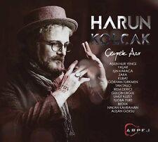 """HARUN KOLÇAK """"ÇEYREK ASIR""""  Turkish Pop CD 2016"""