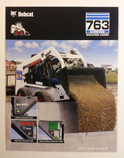Bobcat 763 G-Series Skid-Steer Loader Dealership Ad Flyer - Must See !!