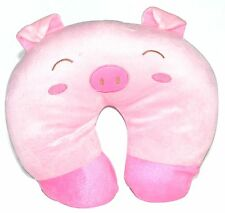 Baby Infant Toddler Car Travel Neck Saver Protector Pig Support Animal Pillow