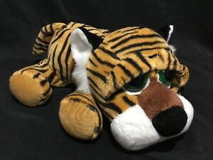 Russ Berrie Tuffley Tiger Beanie Soft Plush Toy Large 35cm with Big Eyes