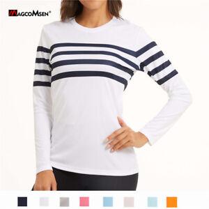 Sun Protection Women's Long Sleece Shirts Working T-Shirts Fishing Golf Blouse