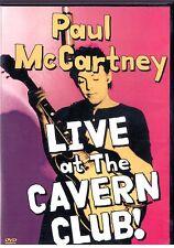 Paul McCartney Live at the Cavern Club! Dvd