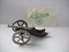 Metalfiguren Kinder metal cannone 2