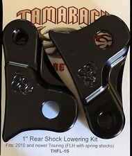 "1"" lowering kit for Harley  CVO ROAD GLIDE  - Powdercoat Black"