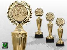 3er Pokale Pokalserie GoldStar mit Gravur und Emblem günstige Pokale kaufen TOP
