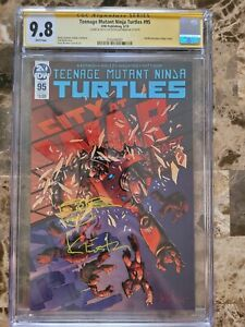 Teenage Mutant Ninja Turtles #95 1st Jennika as a 🐢  CGC 9.8 Signed and...