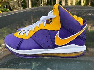 NEW Nike LeBron 8 Lakers Size 9.5 (DC8380-500)