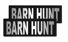 Barn Hunt Patch Patch Reflective Extra Label Tag for Dog Harness